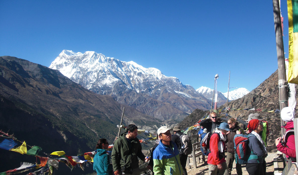 Annapurna amazing altitude with an edge