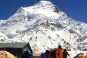 Mount Cho Oyu Expedition Nepal side