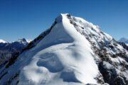 Nepal climbing Chulu East