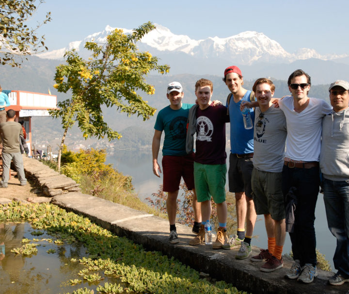 nepal annapurna skyline (royal) trekkijg