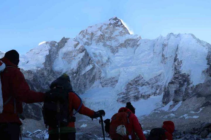 Everest 3 high Passes trekking
