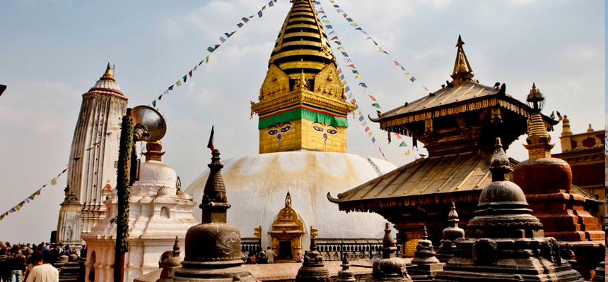 swayambhunath, World heritage site inside Kathmandu Valley