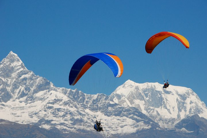 Paragliding in Nepal, Pokhara