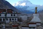 Tibet Rombuk Monastery, Mt Everest