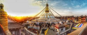 Boudhanath, one of the world heritage sites inside Kathmandu valley