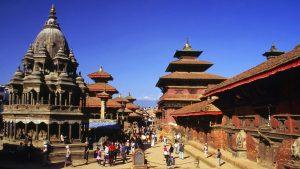 Kathmandu durbar square, one of the world heritage sites inside Kathmandu valley