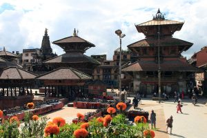 patan durbar square, one of the world heritage sites inside Kathmandu valley