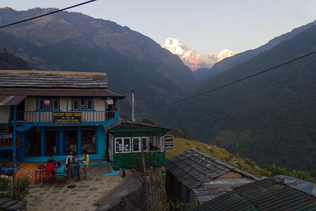 Ulleri, Places around Annapurna Base Camp, annapurna base camp places to stay, accomodations around ABC trek, trekking to annapurna base camp