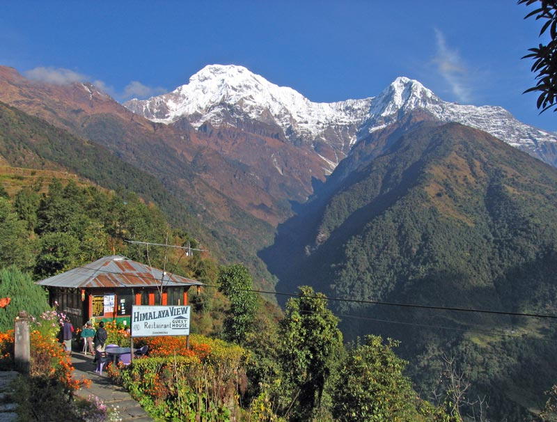chhomrong - Places around Annapurna Base Camp, annapurna base camp places to stay, accomodations around ABC trek, trekking to annapurna base camp