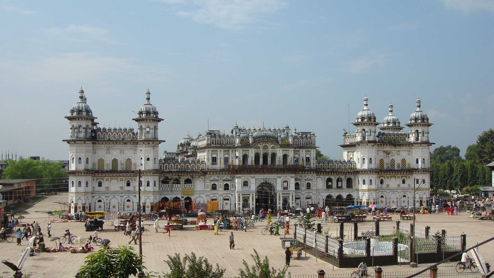 Janki Temple Places to visit in Nepal
