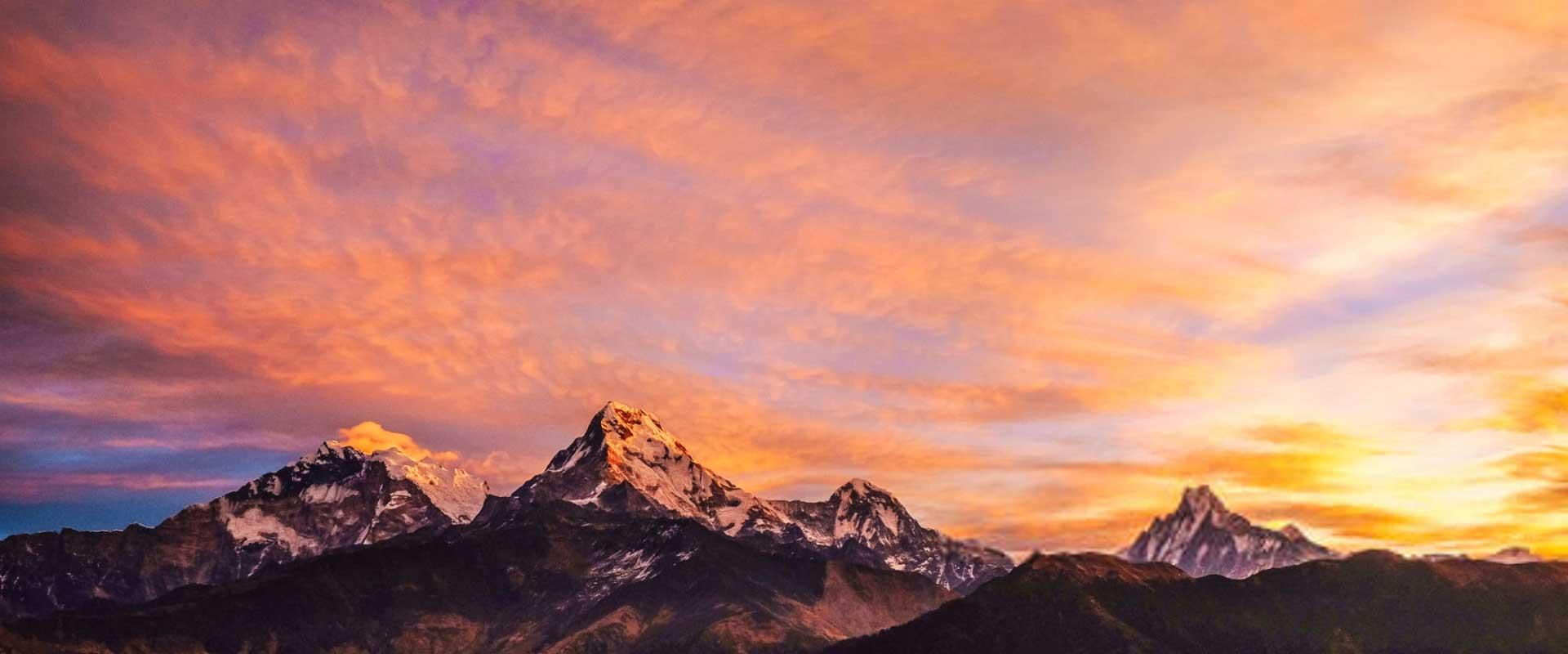 Himalaya Range Nepal